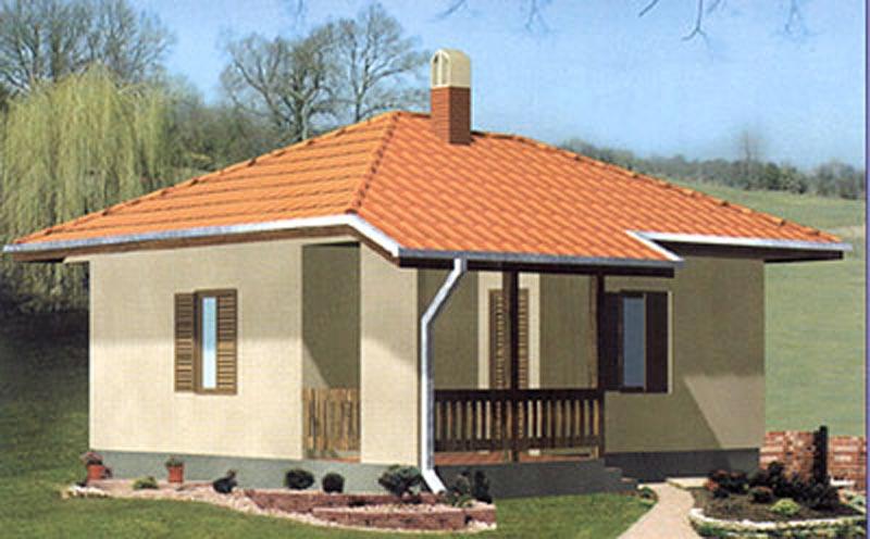 Montažna kuća tip 44 A | Montazne i drvene kuce Sergej | Srbija